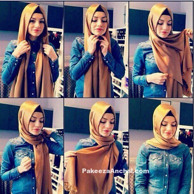 25 Modern Hijab Styles, Hijab Tutorials for Daily Wear