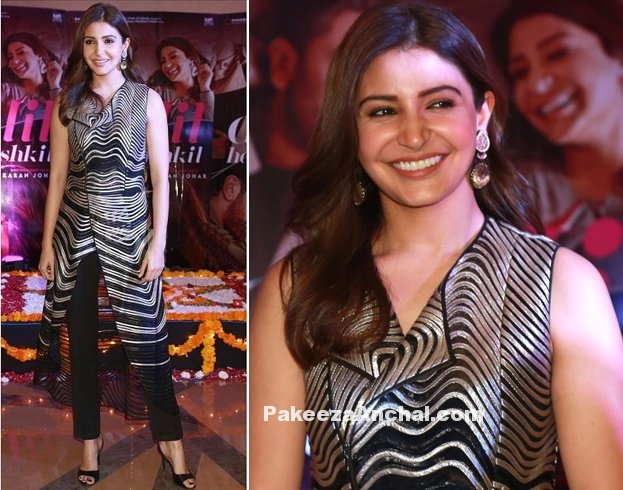 Anushka Sharma in patterned Kurta & Fit Trousers