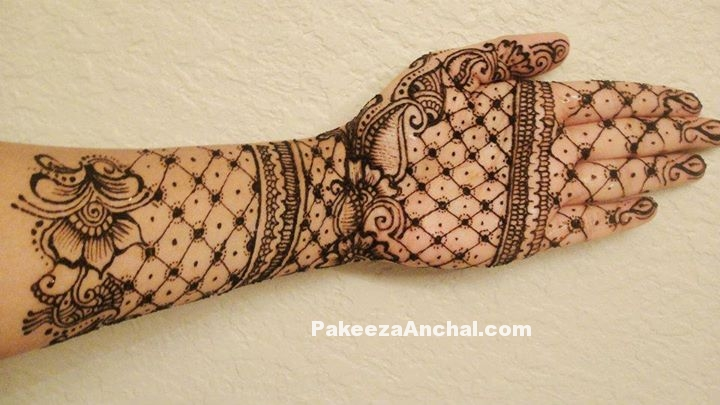 Beautiful Arabic Mehendi Designs for Girls, Mehendi Design & Patterns 2015-1-PakeezaAnchal.com