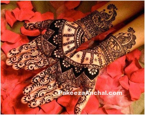 Beautiful Arabic Mehendi Designs for Girls, Mehendi Design & Patterns 2015-PakeezaAnchal.com