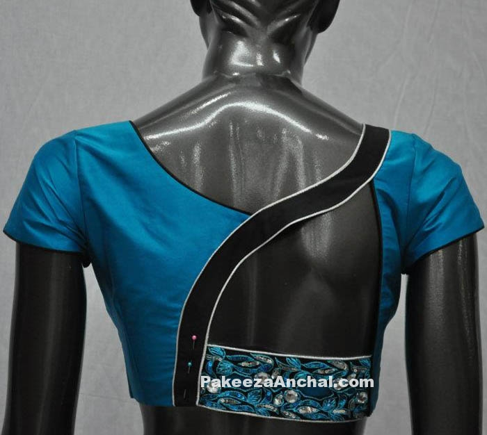 Best Backless Design Fashion Trends with Designer Saree for Women-PakeezaAnchal.com