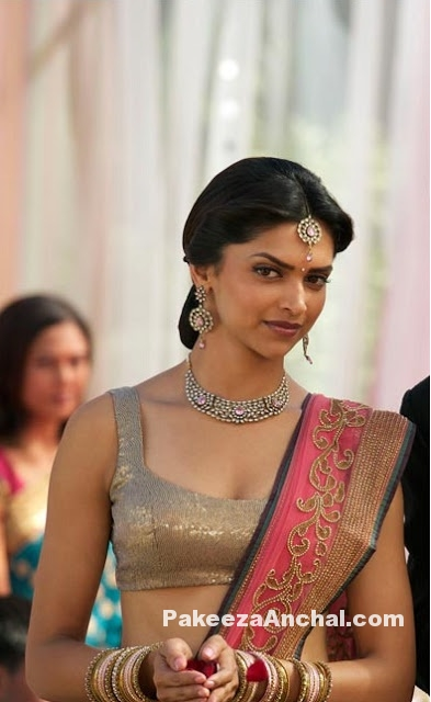 Bollywood Acress Deepika Padukone in Sequin Dresses, fashion for Young girls -PakeezaAnchal.com