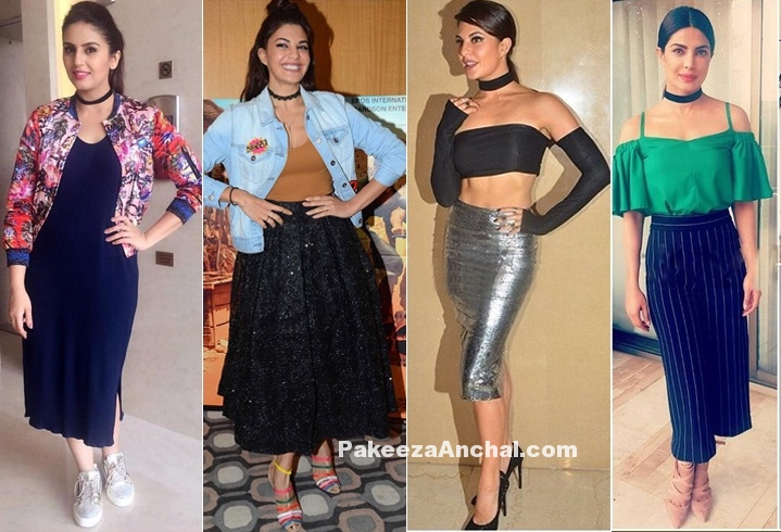 Bollywood celebrity in Choker Necklace Styles-PAkeezaAnchal.com
