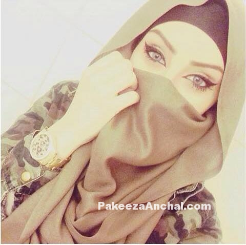 Cute Hijabi Muslim Girls for Whatsapp DP Pictures and FB Profile Pic PakeezaAnchal.com