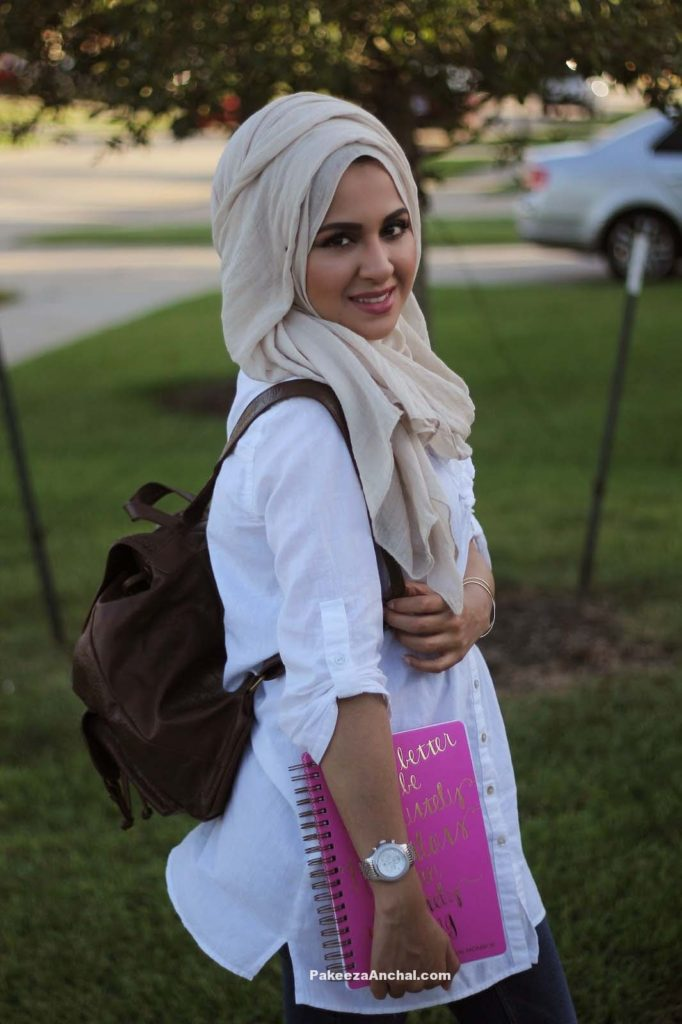 Hijab Styles for Schools, Hijab Wearing Girls DP