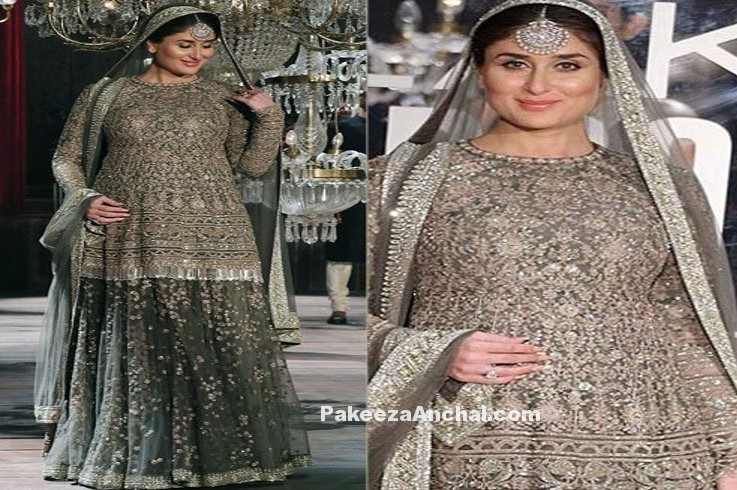 Kareena Kapoor in Sabyasachi Lehenga in LFW 2016