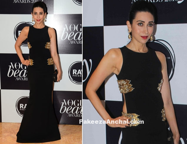 Karishma Kapoor in Monisha Jaising's Gown at Vogue Awards 2016