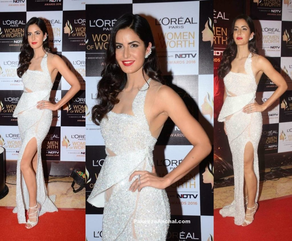 Katrina Kaif at L'Oreal Paris Women of Worth Awards