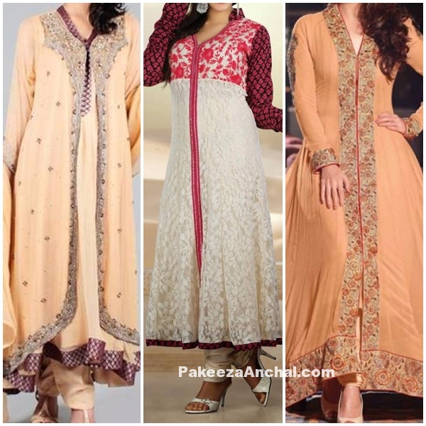 Latest Long Frock dresses 2016-2017 Collection for Girls-PakeezaAnchal.com