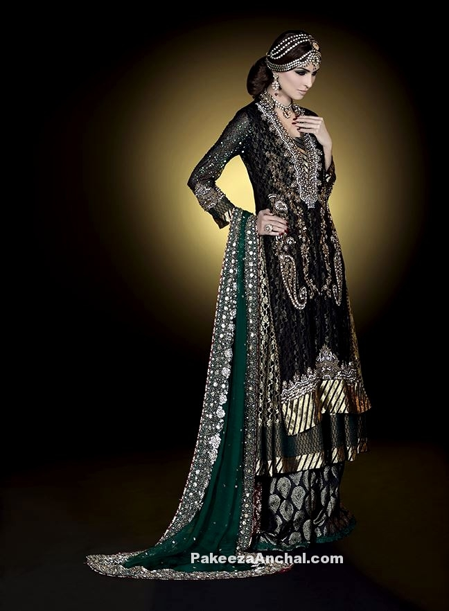 Latest Pakistani Bridal Dresses for Brides, Bridal Wear Wedding Dresses-4-PakeezaAnchal.com