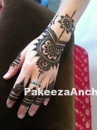 Mehandi Designs for your Feet-PakeezaAnchal.com