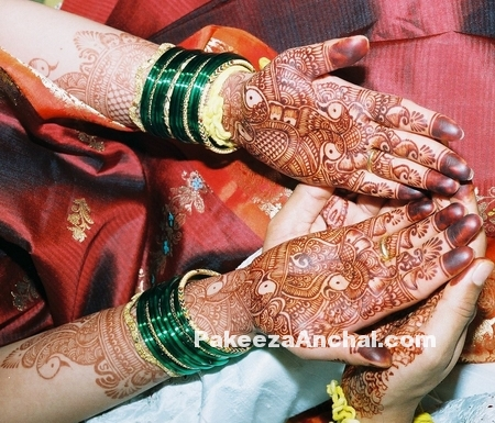 Mehendi Designs for Bride, Top Bridal Mehendi Design Patterns of Brides-3-PakeezaAnchal.com