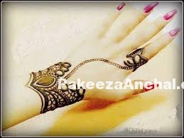 Mehendi Designs for your Feet-PakeezaAnchal.com