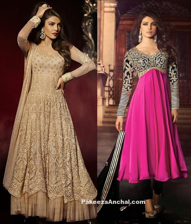 Priyanka Chopra in Salwar kameez Collection 2017-PakeezaAnchal.com