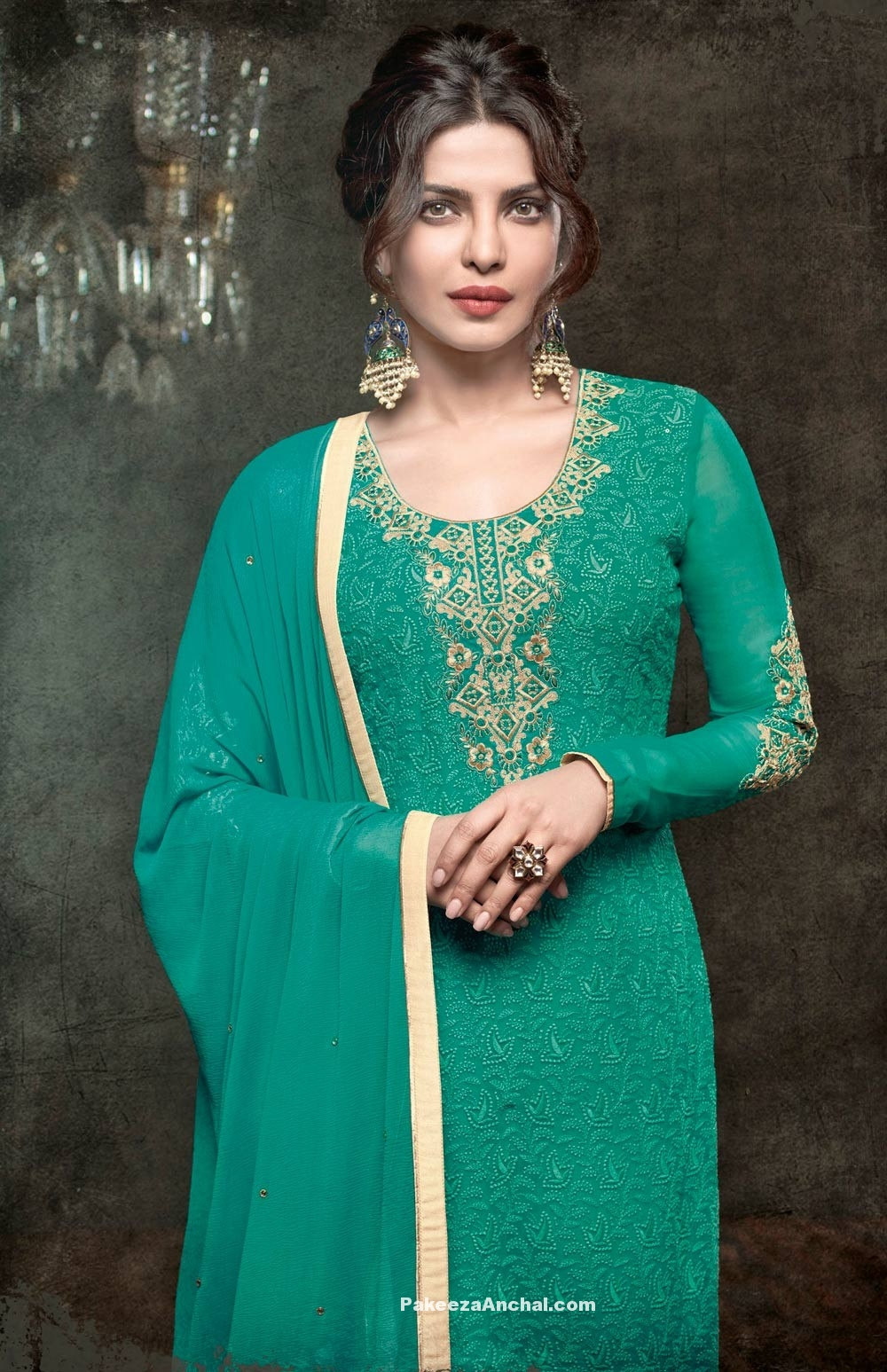 Priyanka Chopra in Salwar kameez Collection 2017 www.PakeezaAnchal.com