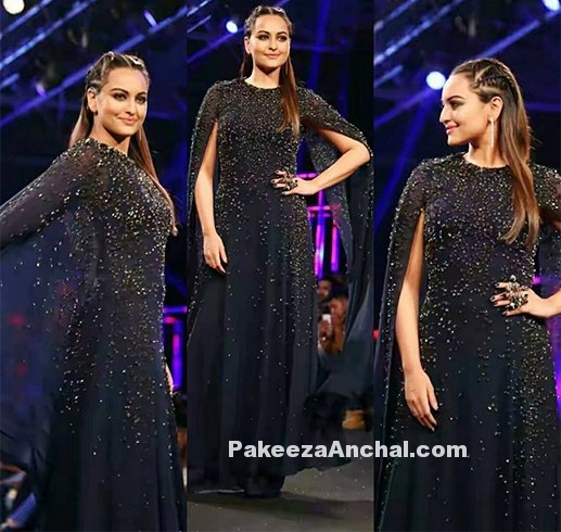 Sonakshi Dazzling at Blenders Pride Fashion Tour Hyderabad
