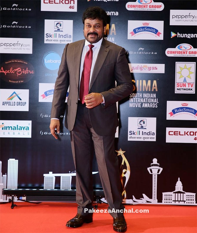 South MegaStar Chiranjeevi at SIIMA Awards 2016