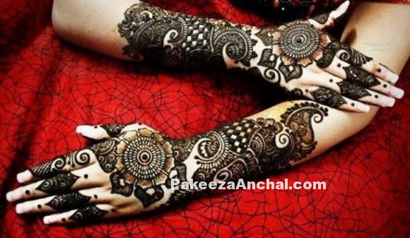 Stylish Arabic Mehndi Designs 2015, Latest Arabic Mehendi Styles for Women-5-PakeezaAnchal.com.jpg