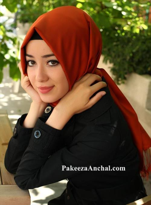 Stylish Ideas of Hijab and Scarfs for School Girls, Latest Hijab Fashion PakeezaAnchal.com