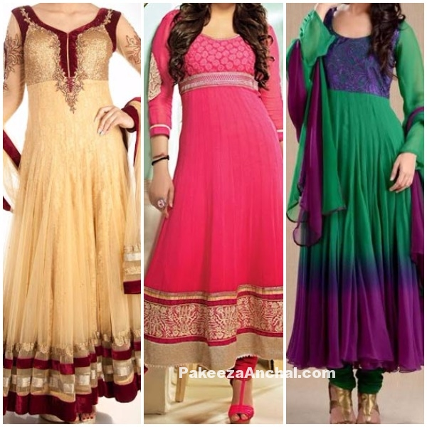 Stylish Long Frock dresses 2016-2017 Collection for Girls