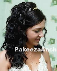 Trendy Bridal hairstyles-PakeezaAnchal.com