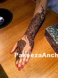 Trendy mehandi Designs for Girls-PakeezaAnchal.com