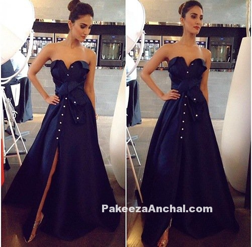 Vaani Kapoor in Off Shoulder for Befikre Trailer Launch